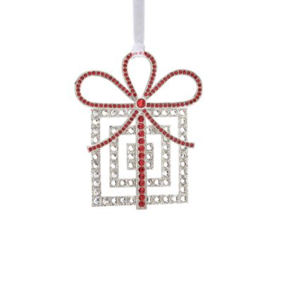 Reed & Barton® Crystal Package Ornament