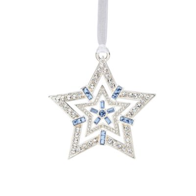 Reed & Barton® Crystal Star Ornament with Swarovski® Elements
