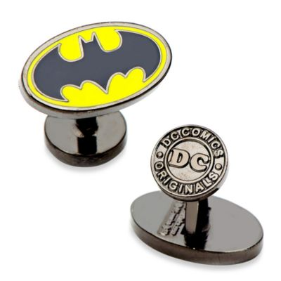 DC Comics Oval Batman Logo Cufflinks