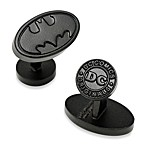 DC Comics Satin Black Oval Batman Logo