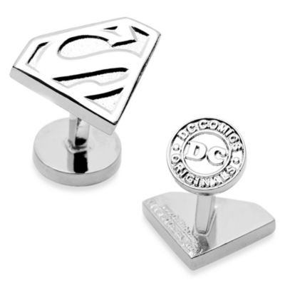 DC Comics Shield Cufflinks