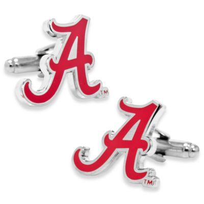 NCAA University of Alabama Cufflinks