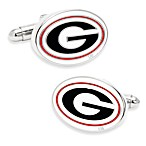 NCAA University of Georgia Cuff Links