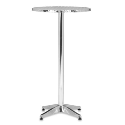 Zuo® Modern Christabel Folding Aluminum Bar Table