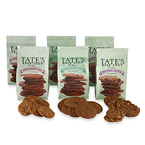 Tate's Bake Shop 6-Pack Cookies in Classic Assortment