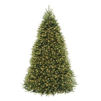 10 Pre Lit Hinged Christmas Tree