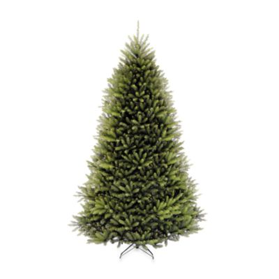 12-Foot Dunhill Fir Hinged Tree Pre-Lit with 1,500 Clear Lights