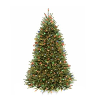 Dual Voltage Pre Lit Christmas Trees