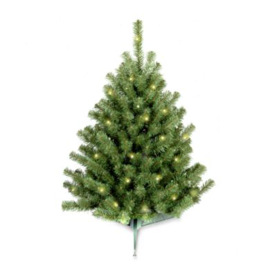 National Tree 3-Foot Eastern Spruce Christmas Tree Pre-Lit with 50 Clear Lights
