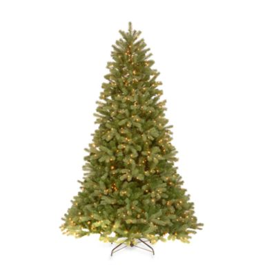 Feel-Real® 6 1/-2 Foot Downswept Pre-Lit Douglas Fir Tree with 650 Clear Lights