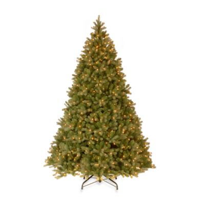 National Tree Feel-Real® Down Swept 9-Foot Pre-Lit Douglas Fir Tree with 900 Clear Lights