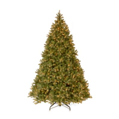 National Tree Feel-Real® Down Swept 10-Foot Pre-Lit Douglas Fir Tree