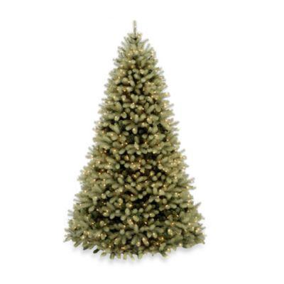 Feel-Real® 7 1/2-Foot Downswept Pre-Lit Douglas Fir Tree with 750 Clear Lights