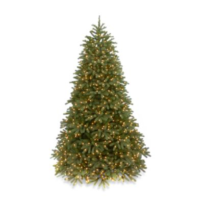 National Tree Feel-Real® Jersey Fraser 7-Foot 6-Inch Pre-Lit Fir Christmas Tree