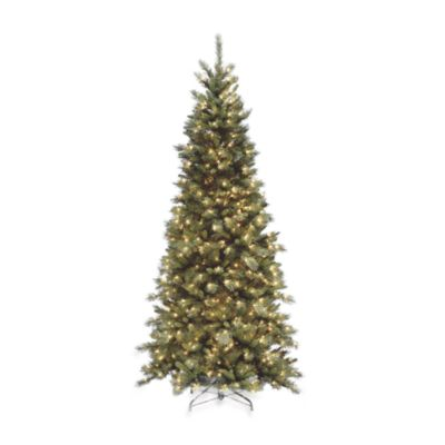 7 1/2-Foot Tiffany Slim Fir Tree Pre-Lit with 500 Clear Lights