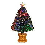 Fiber Optic 36-Inch Evergreen Tree