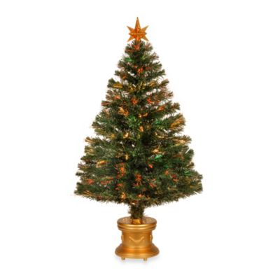 "National Tree 48-Inch Fiber Optic ""Evergreen"" Fireworks Tree"