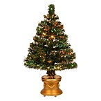 National Tree 3-Foot Fiber Optic