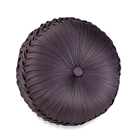 J. Queen New York Bohemia Tufted Round Throw Pillow - www.BedBathandBeyond.com