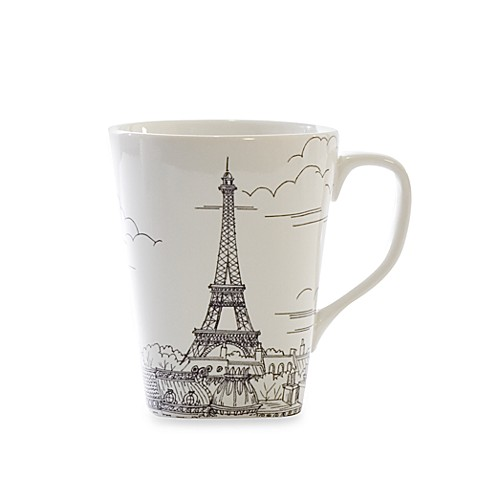 222 Fifth Paris 14-Ounce Mug