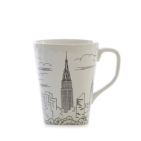 222 Fifth Empire State Building 14-Ounce Mug