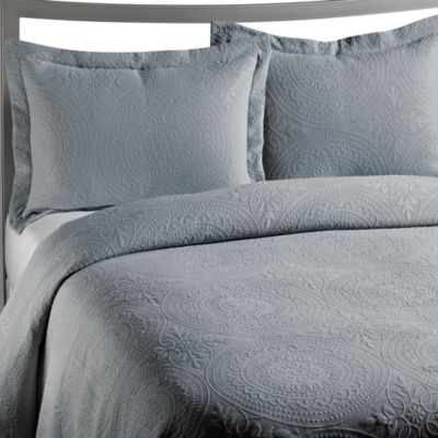 Vue™ Royal Medallion Matelasse Spa Standard Pillow Sham
