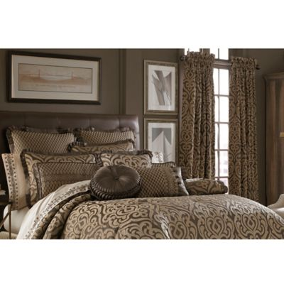J. Queen New York™ Luxembourg King Duvet Cover Set in Mink