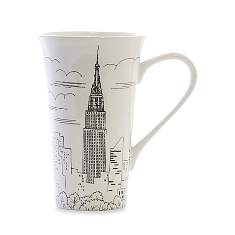 Empire State Building 17-Ounce Latte Mug