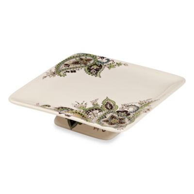 Tabletops Unlimited™ Misto Angela 8-Inch x 2-Inch Footed Cake Plate