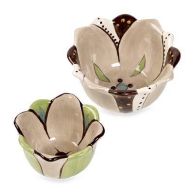 Tabletops Unlimited™ Misto Angela Fruit Bowl Set