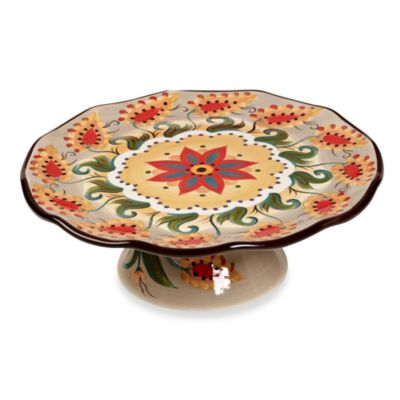 Tabletops Unlimited™ Misto Odessa Scalloped Footed Cake Plate