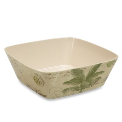 Tar Hong Iles Palm 10.5-Inch Large Bowl