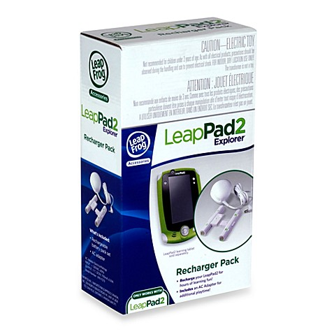 buy leapfrog leappad2 explorer recharger pack from bed bath beyond. Black Bedroom Furniture Sets. Home Design Ideas