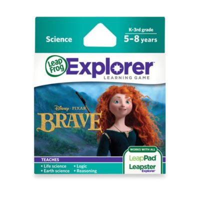 LeapFrog® LeapPad2 Power Learning Tablet > LeapFrog® Explorer Disney Pixar Brave Learning Game