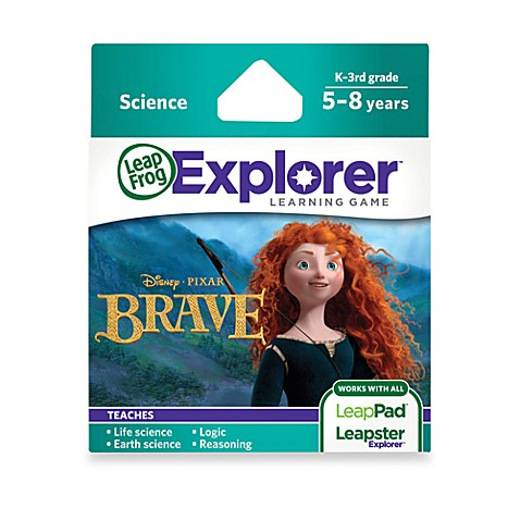 LeapFrog® Explorer Disney Pixar Brave Learning Game