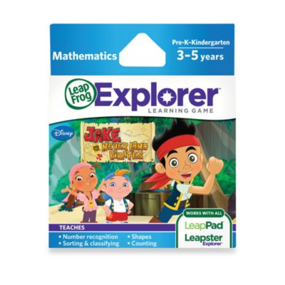 LeapFrog® Explorer Jake & the Never Land Pirates Learning Game