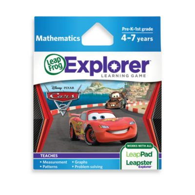 LeapFrog® Explorer Disney Pixar CARS 2 Learning Game
