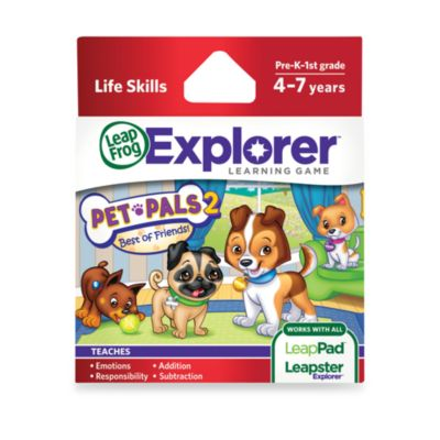 LeapFrog® LeapPad2 Power Learning Tablet > LeapFrog® Explorer Pet Pals 2: Best of Friends Learning Game