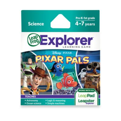LeapFrog® Explorer Disney Pixar Pals Learning Game - from Leap Frog