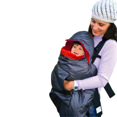 Tivoli Couture Mommy's Hug 3-in-1 Baby Carrier Weather Cover in Red