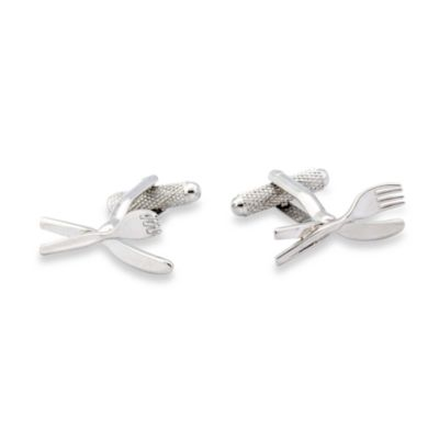 Knife & Fork Cufflinks