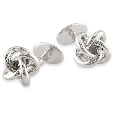 Men's Sterling Silver Pin Cufflinks