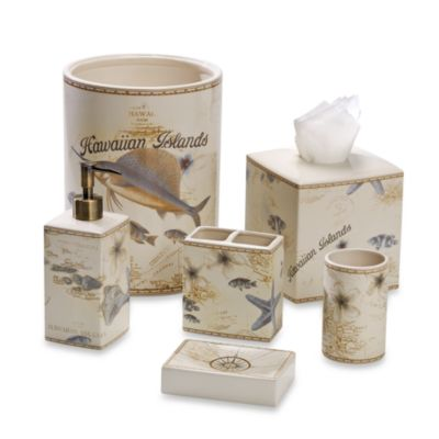Tommy Bahama® Hawaiian Islands Toothbrush Holder
