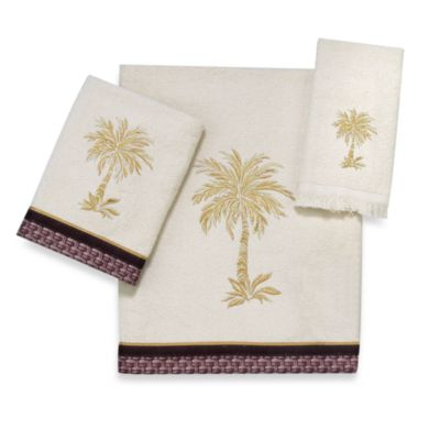 "Ivory Gold A"" Fingertip Towels"