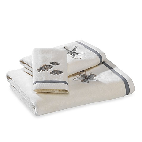 Hawaiian Islands Bath Towels