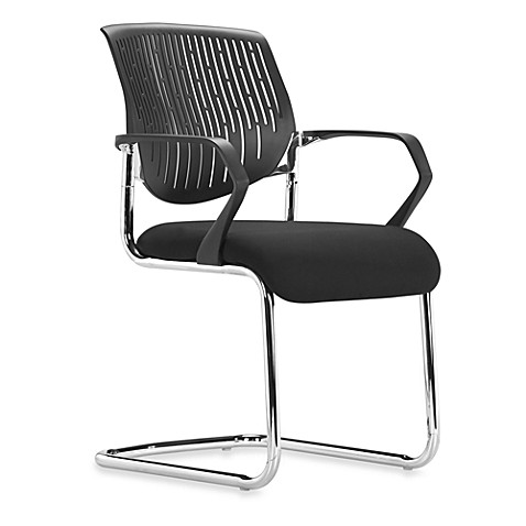 Zuo Modern Synergy Sled Conference Chair in Black