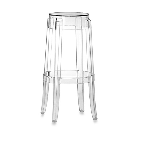 Zuo Anime Transparent Bar Chair (Set of 4)