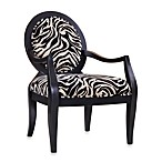 Malibu Accent Chair in Zebra