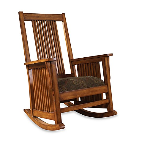 Belmont Rocking Chair in Paisley