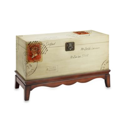 Madison Park Postage Accent Trunk